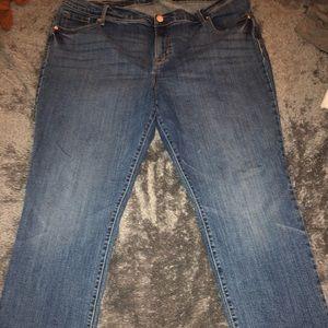 Straight women's jean